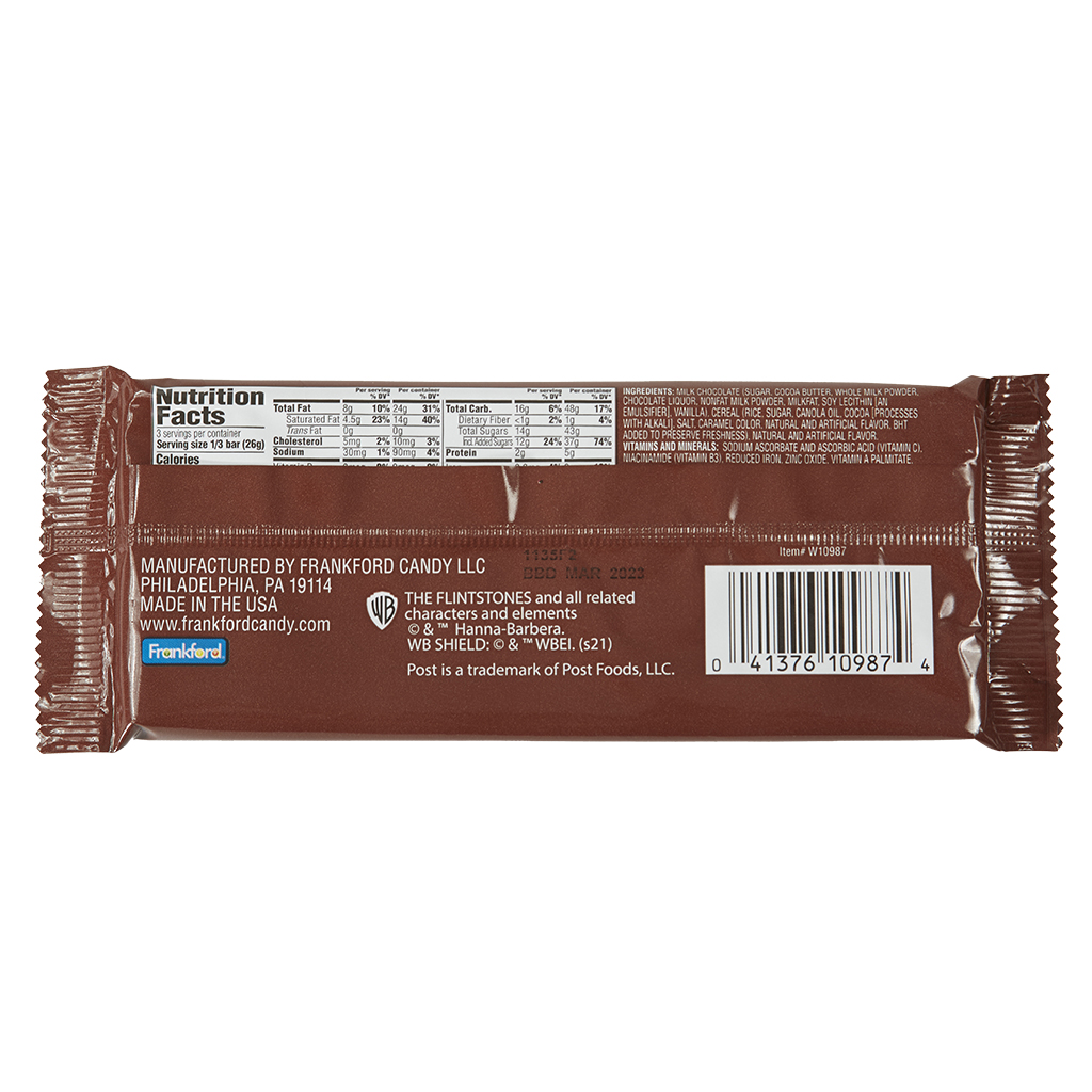 Cocoa PEBBLES™ Candy Bar, 18 Count