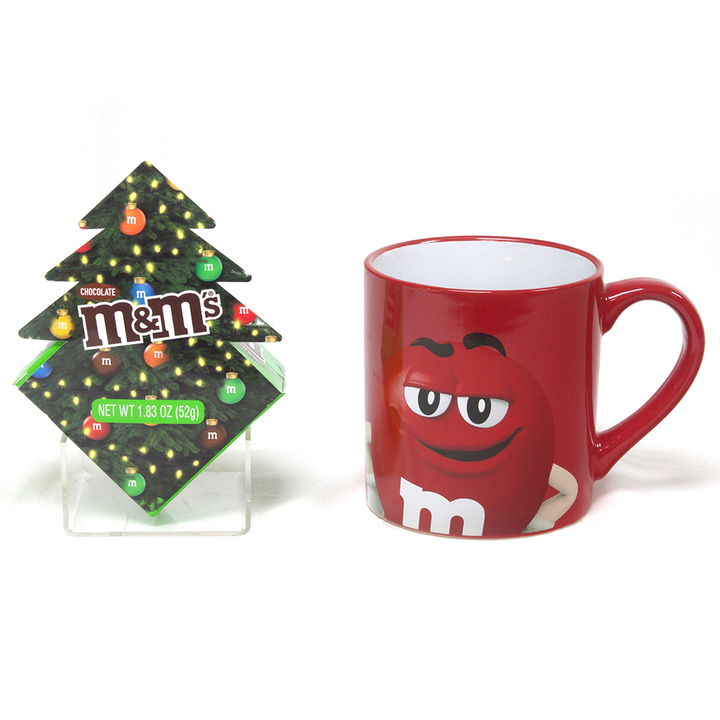 M&M'S® Mug Gift Set, Red