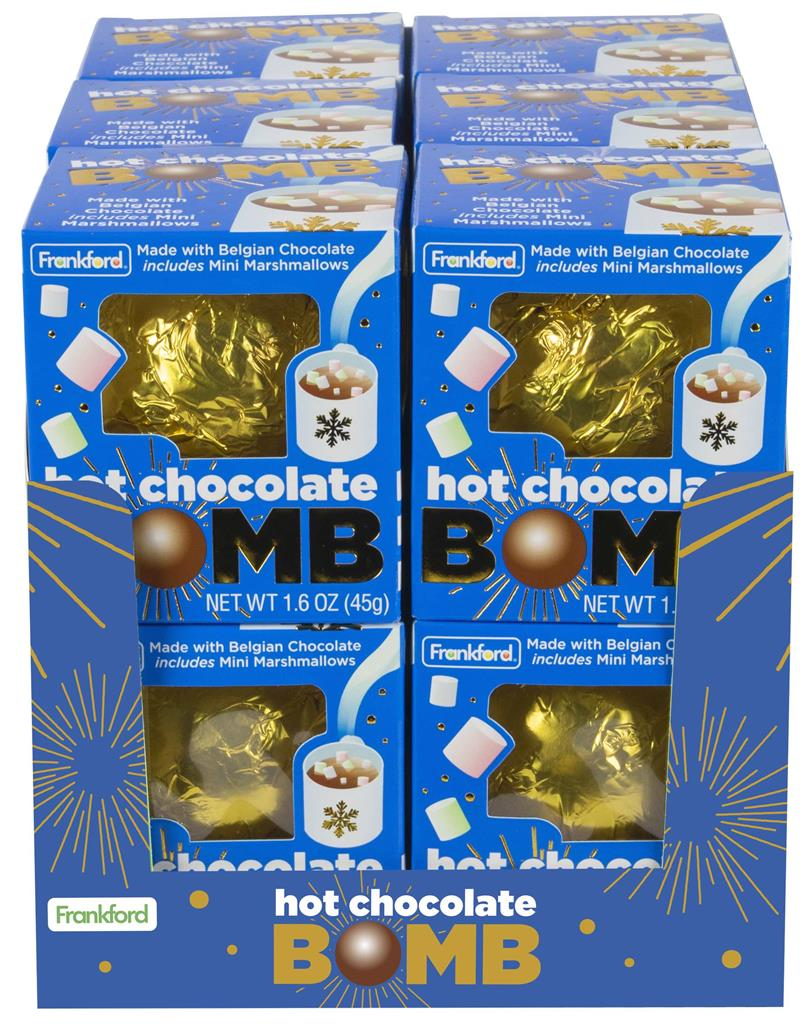 Hot Chocolate Bomb, 12pk