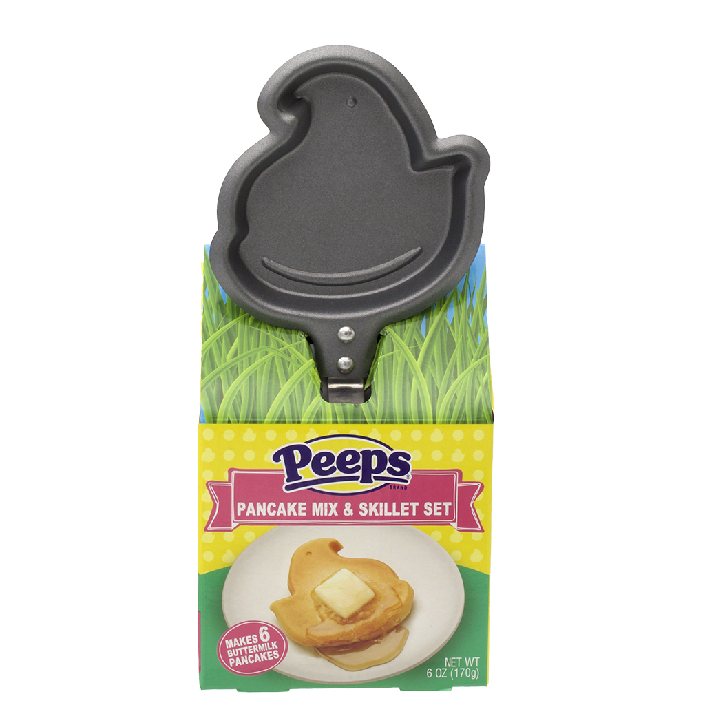 PEEPS® Chick Pancake Skillet Set, 6 oz, 1 pack