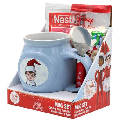 Elf on the Shelf Cocoa Mug Gift Set