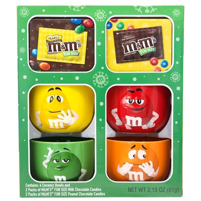 M&M'S® 4pk Bowl Gift Set