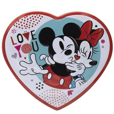 Disney Mickey Mouse Milk Chocolate Tin Heart