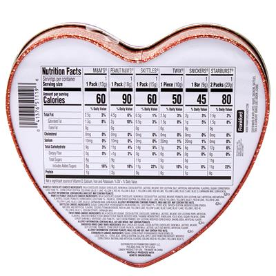 MARS Assorted Tin Heart