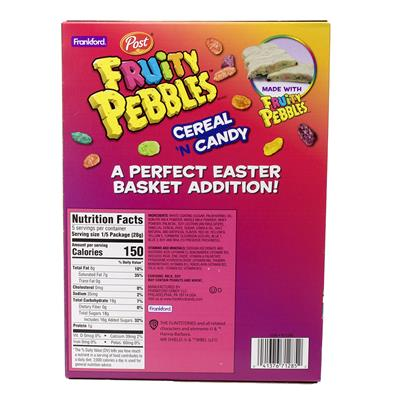 Fruity PEBBLES™ White Candy Rabbit, 5 oz, 6 pack