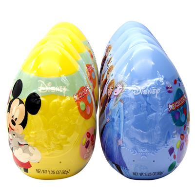 Disney Character Giant Plastic Eggs with Candy, 8 pack